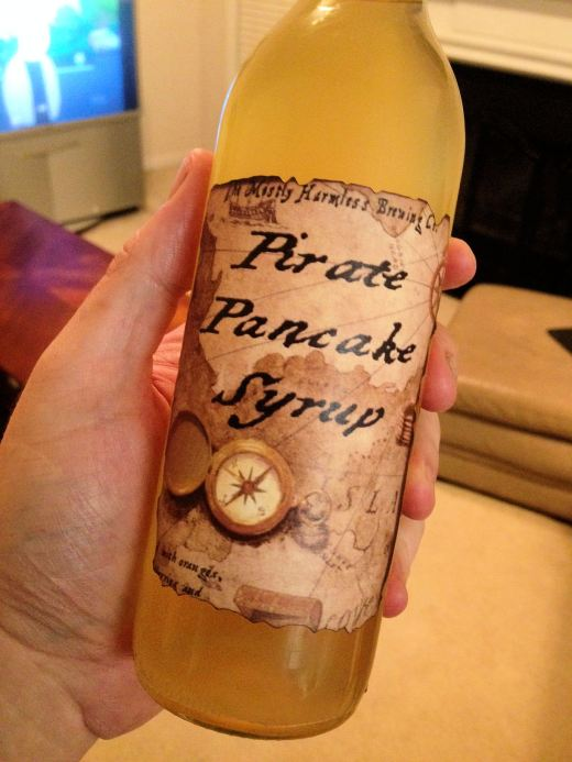 A little bottle of gold.