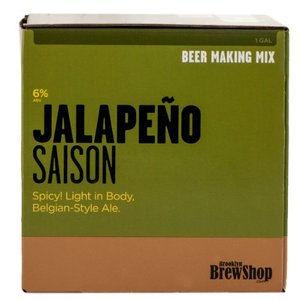Jalapeno Saison 1 Gallon Beer Kit