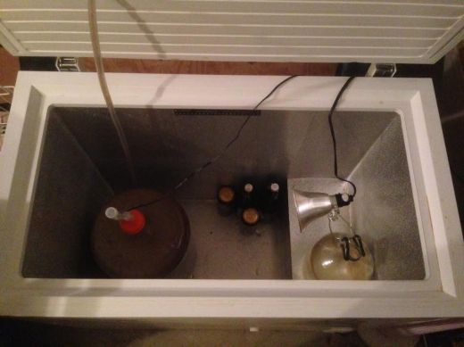 Fermentation Chamber with Heater