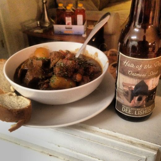 Homemade Beef and Stout Stew