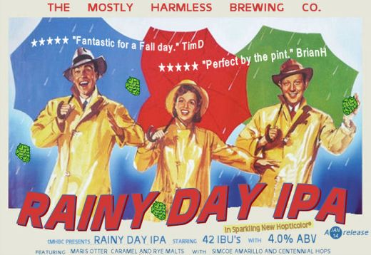 Singin' in the Rainy Day IPA