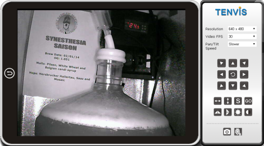 Fermentation Camera Snapshot