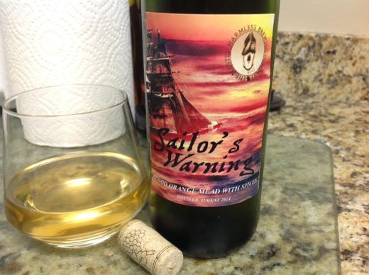 A nice pour of Sailor's Warning